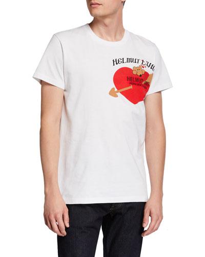 Men's PZ Valentine Standard Graphic Crewneck T-Shirt