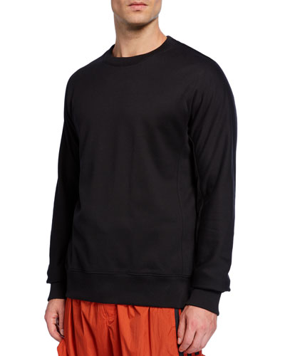 Men's Classic Crewneck Cotton Sweater