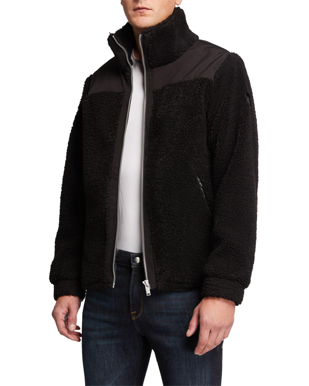 Men's Barrows Sherpa Zip-Front Jacket