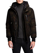 Mackage Men's Dixon Camo Down Jacket
