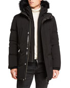 Mackage Men's Edward Hooded Nordic Tech-Down Jacket w/