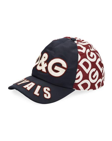 Dolce & Gabbana Men's DG Logo Mania Embroidered Baseball Hat