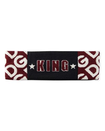 Men's DG King Logo Mania King Wool Headband