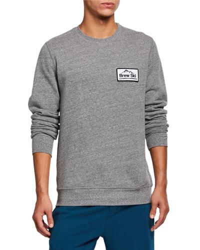 Men's Brew Ski Patch Sweatshirt