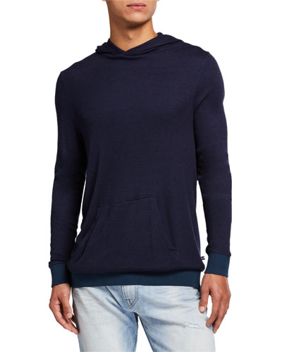 Men's Sherpa Jersey Pullover Hoodie