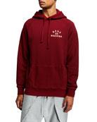 Deus Men's Tokyo Typographic Hoodie Sweatshirt