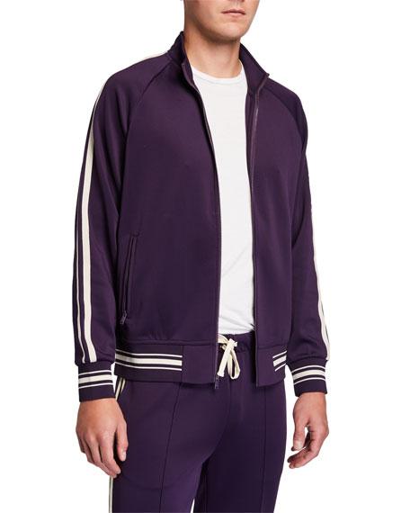 Ovadia Men's Ball Side-Stripe Track Jacket