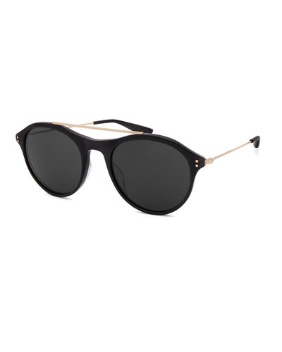 Men's Vanguard Round Stud Sunglasses