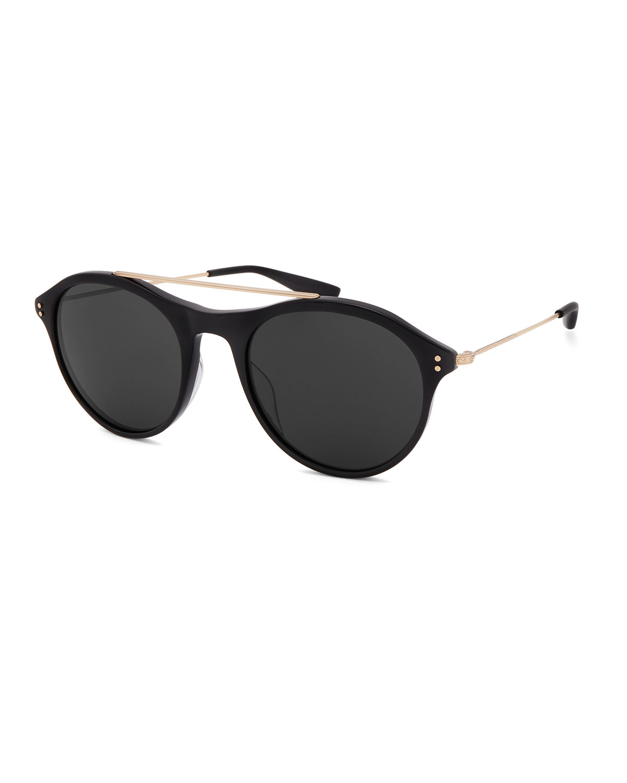 Men's Vanguard Round Stud Sunglasses