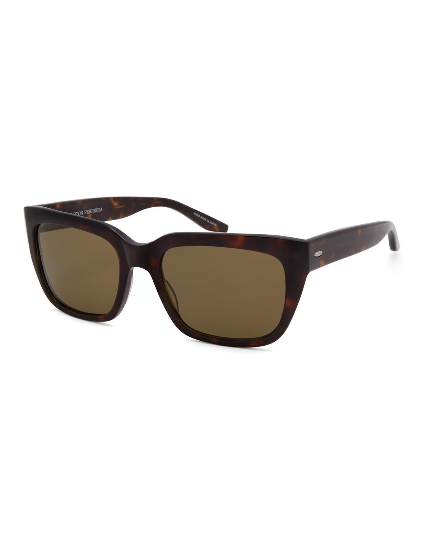 Men's Vesuvio Dark Walnut Sequoia Polarized Sunglasses