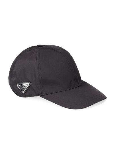 online store cc491 a712f Black Baseball Cap   Neiman Marcus