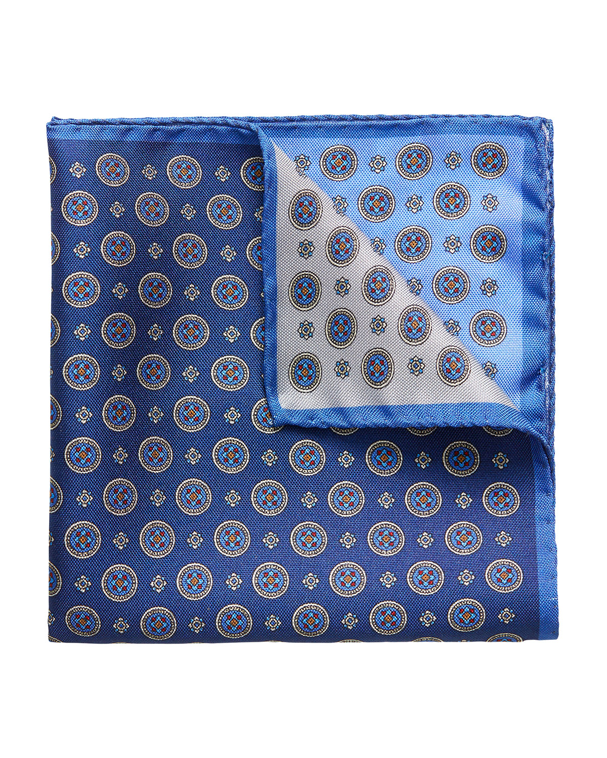 Men's Four-in-One Silk Pocket Square