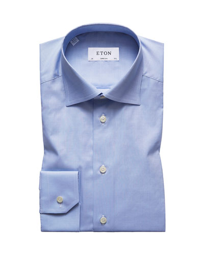 Men's Super Slim-Fit Natural-Stretch Dress Shirt