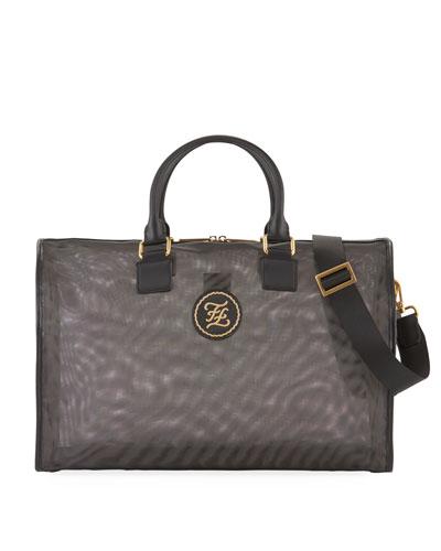 Men's FF Nylon Weekender Bag