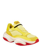 Puma Men's Alteration Crinkled Trainer Sneakers with