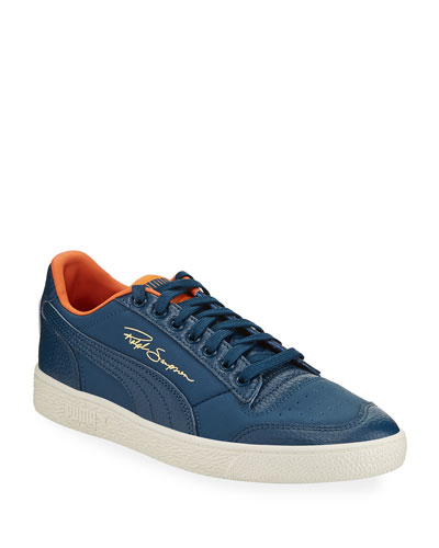 Men's Ralph Sampson Lo Virginia Leather Low-Top Sneakers