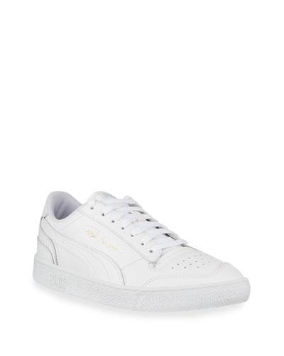 Men's Ralph Sampson Tonal Leather Low-Top Sneakers