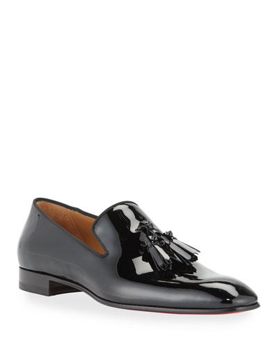 Men's Dandelion Patent Leather Tassel Loafers