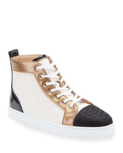Men's Louis Colorblock Mid-Top Sneakers