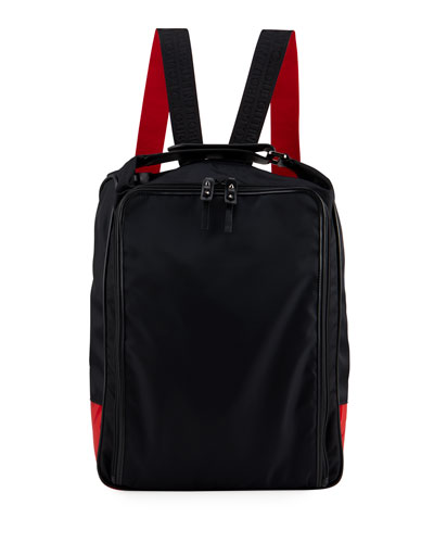 Men's Square Zip-Around Backpack