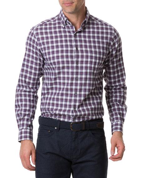 Rodd & Gunn Men's Monaghan Plaid Sport Shirt