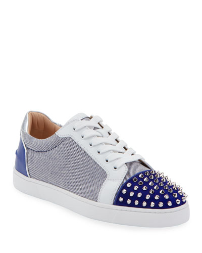 Men's Seavaste Spiked Low-Top Sneakers