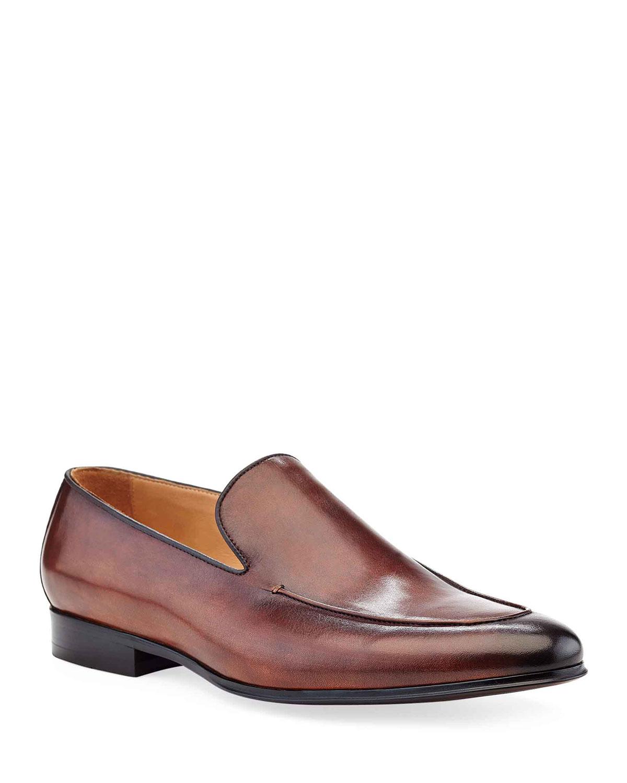 Men's Brett Leather Loafer Dress Shoes