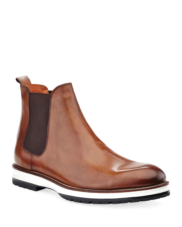 Men's Liam Hybrid Leather Chelsea Boots
