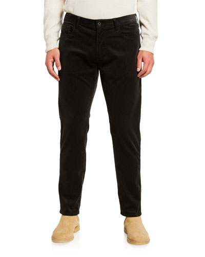 Men's Corduroy Five-Pocket Pants
