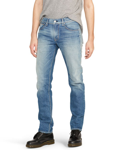 Men's Byron 5-Pocket Straight-Zip Jeans