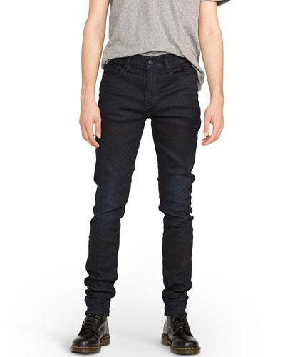 Men's Axl Skinny Dark-Wash Jeans