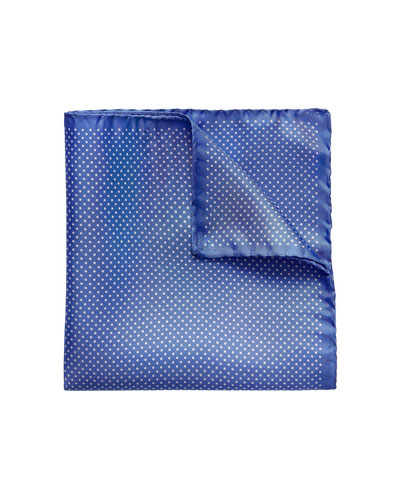 Men's Polka Dot Pocket Square