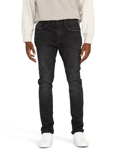 Men's Zack Raw-Edge Skinny Jeans