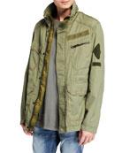 G-Star Men's X-Po Ripstop Field Jacket