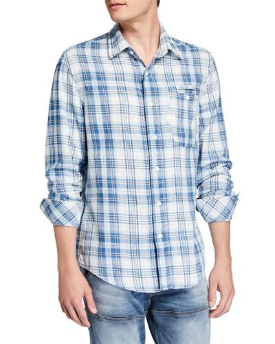 Men's Bristum Pocket Slim Sport Shirt