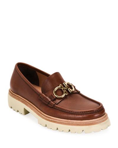 Men's Bleecker Lug-Sole Leather Loafers