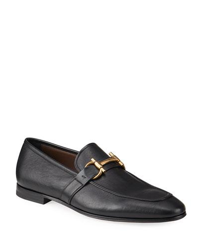 Men's Sherman Gancini Leather Loafers