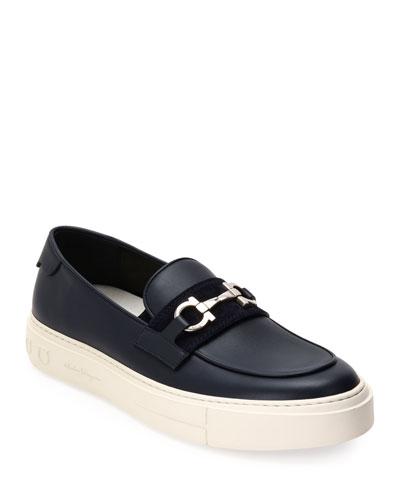 Men's Saturday Gancini-Bit Sneaker Loafers