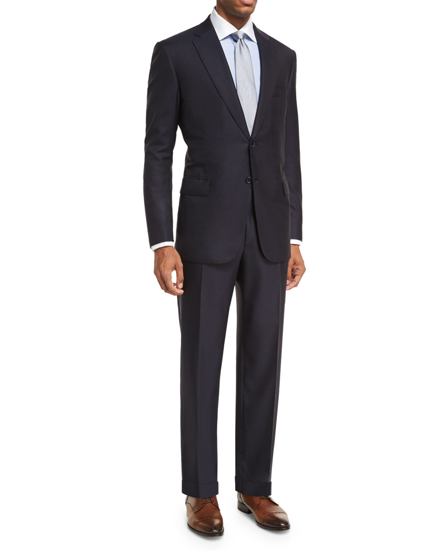 Men's Brunico Solid Two-Piece Suit