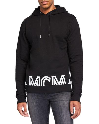 Men's Milano Logo-Typographic Hoodie