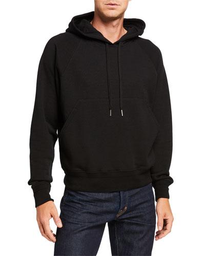 Men's Pullover Wool-Blend Hoodie