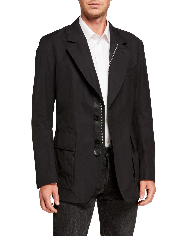 Tom Ford Jackets MEN'S ZIP-FRONT SPORTSWEAR JACKET