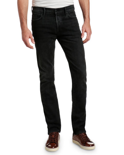 Men's Slim Straight-Leg Stretch Denim Jeans