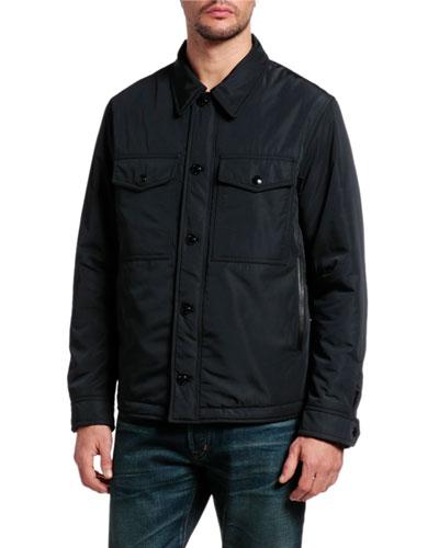 Men's Ovatta Patch-Pocket Jacket