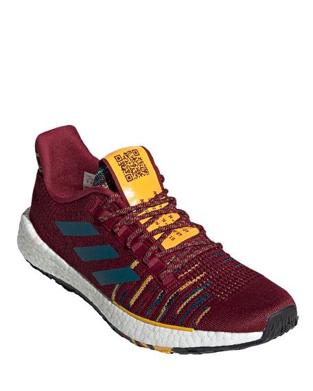 Adidas x missoni Men's PulseBoost HD Knit Running Sneaker w/ Music Playlist