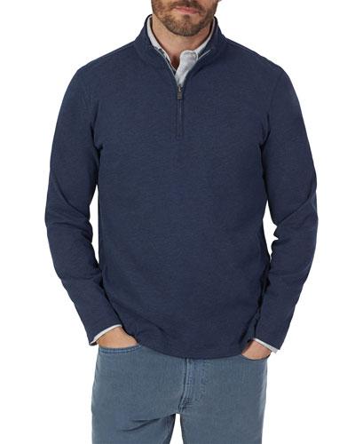 Men's Suffolk Quarter-Zip Pullover Sweater