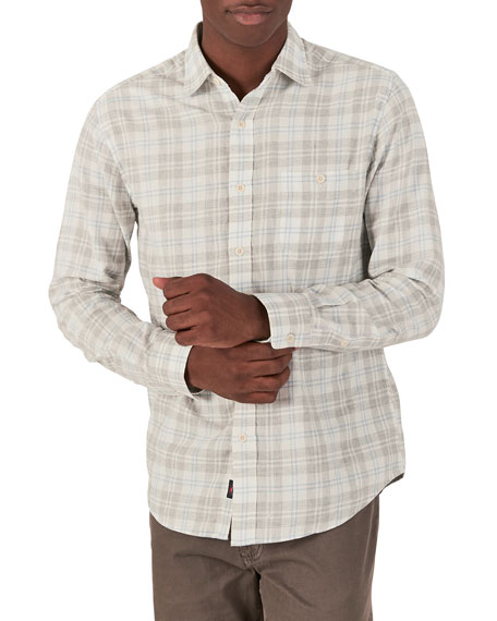 Faherty Men's Ventura Plaid Sport Shirt
