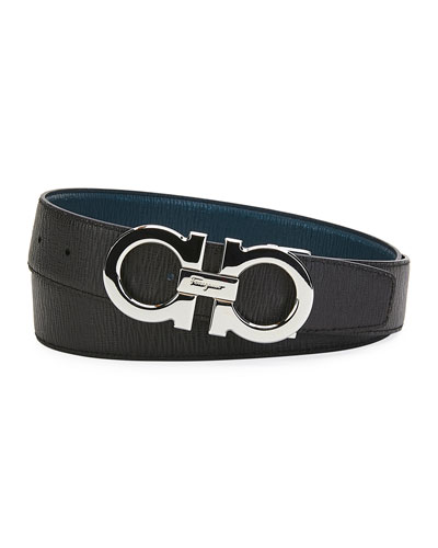 Men's Reversible Revival Textured Leather Belt