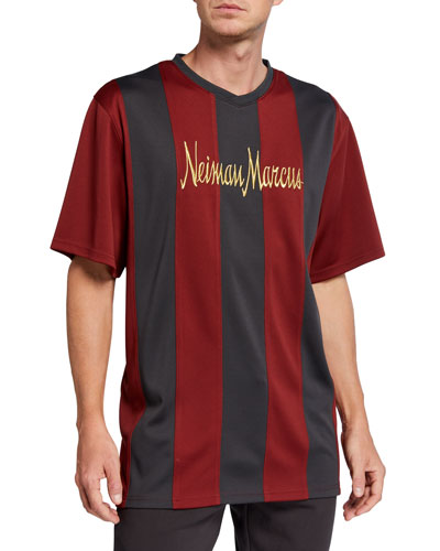 Men's Retro Pique Soccer Jersey Shirt