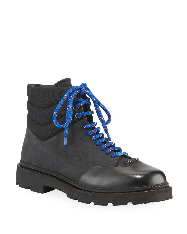 Men's Zeber Tonal Mixed-Media Hiking Boots